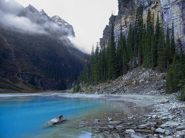 lake Louise Art Print featuring the photograph Lake Louise North Shore - Canada Rockies by Daniel Hagerman