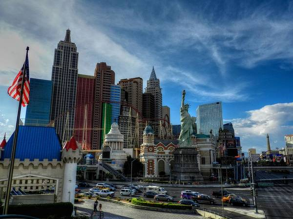 Las Vegas Art Print featuring the photograph Las Vegas 051 by Lance Vaughn