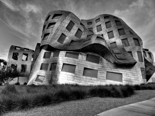 Lou Ruvo Center For Brain Health Art Print featuring the photograph Las Vegas 054 by Lance Vaughn