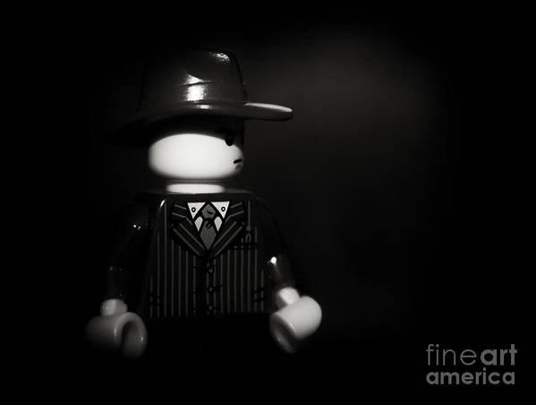 Film Noir Art Print featuring the photograph Lego Film Noir 1 by Cinema Photography