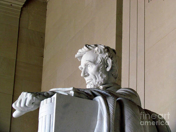 Abraham Lincoln Art Print featuring the photograph Lincoln IIi by Elizabeth Dow