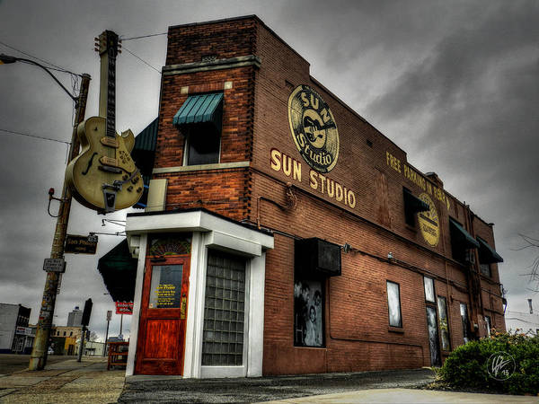 Sun Studio Art Print featuring the photograph Memphis - Sun Studio 001 by Lance Vaughn
