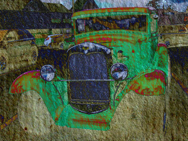 Mj Olsen Art Print featuring the photograph Michigan Coupe by MJ Olsen
