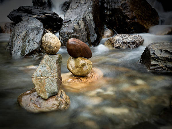 River Art Print featuring the photograph Mystic River S2 Vii by Marco Oliveira