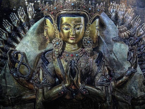 Asia Art Print featuring the photograph Mystical India by Joachim G Pinkawa