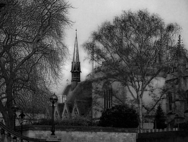 Oxford Art Print featuring the photograph Oxford England by Nicola Hubbard
