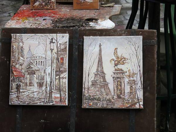 Paris Art Print featuring the photograph Paris France - Street Scenes - 121225 by DC Photographer