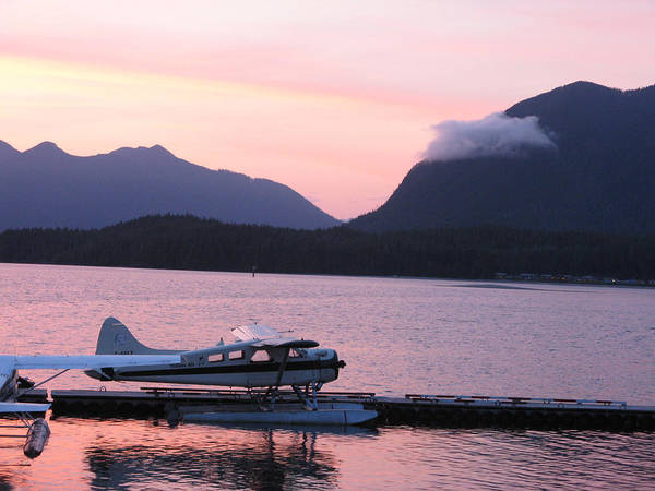 Sea Plane Art Print featuring the photograph Seaplane And Cloud by Patricia Januszkiewicz