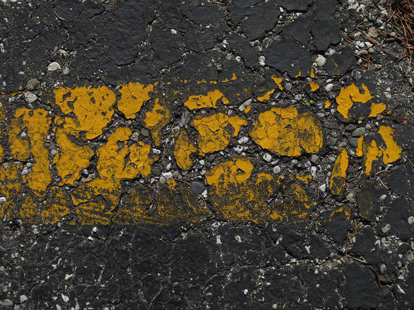 Blacktop Art Print featuring the photograph Seen Better Days by Mary Bedy