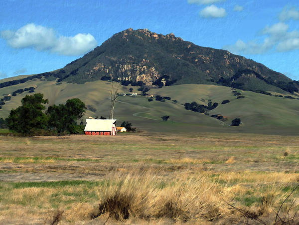 Bishops Peak Art Print featuring the photograph Serenity Under Bishops Peak by Kurt Van Wagner