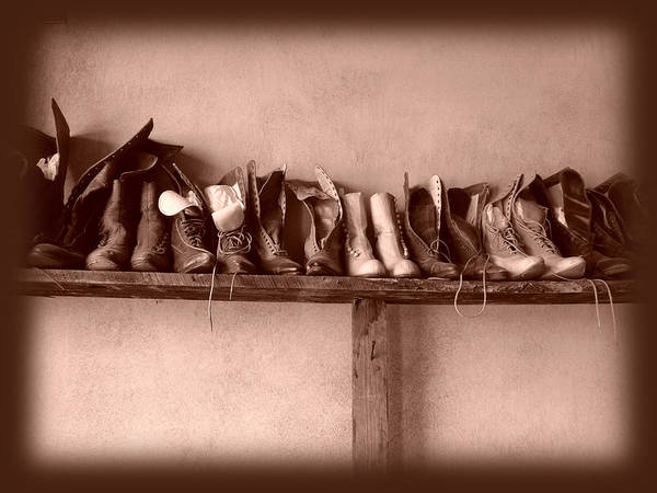 Shoe Art Print featuring the photograph Shoes by Fran Riley
