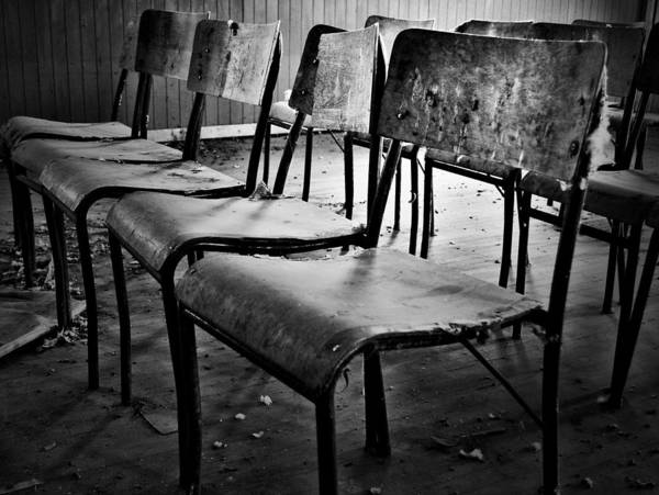 Chairs Art Print featuring the photograph Sixth Seat by The Artist Project