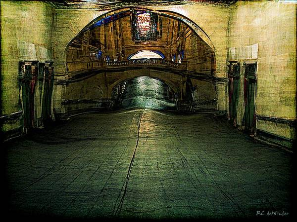 Archway Art Print featuring the painting Slouching Towards Bethlehem by RC DeWinter