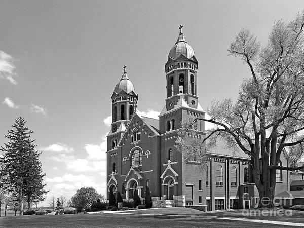 Catholic University Art Print featuring the photograph St. Joseph's College Chapel by University Icons