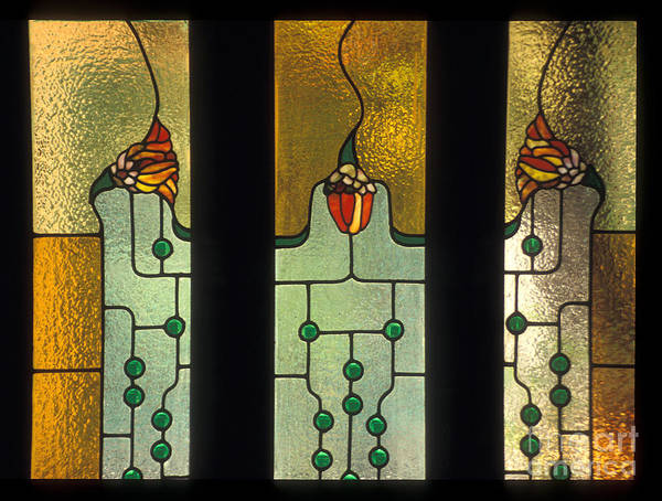 Greeting Cards Art Print featuring the photograph Stained Glass Windows by Eva Kato