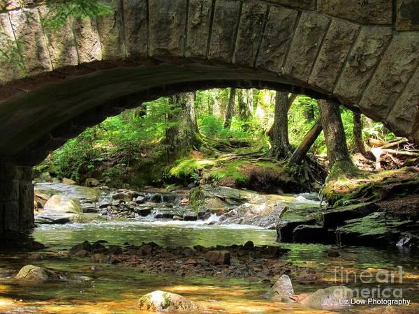 Stone Bridge Art Print featuring the photograph Stone Bridge II by Elizabeth Dow