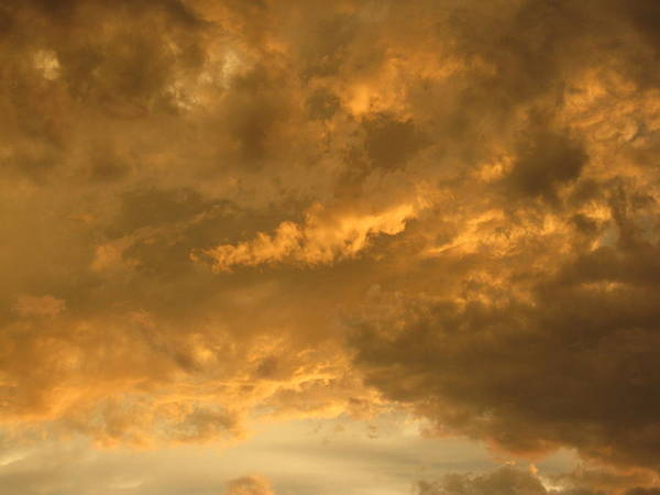 Stormy Sky Over Fort Worth Texas Art Print featuring the photograph Stormy Skies by Karen Coats