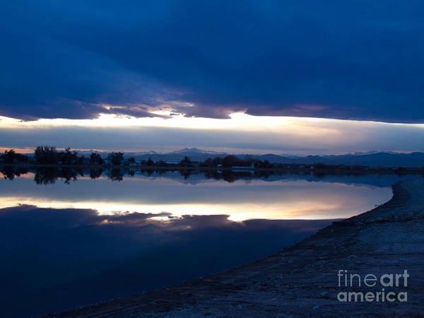 Sunset Art Print featuring the photograph Sunset At Windsor Lake by Dana Kern