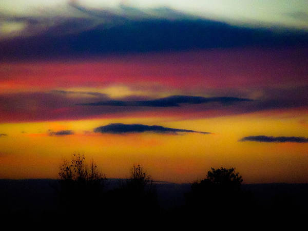 Sunsets Art Print featuring the photograph Sunset Serenity by Joe Bledsoe