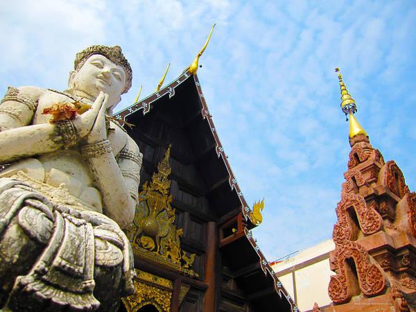 Art Print featuring the photograph Thai Temple 04 by Brian Gilna