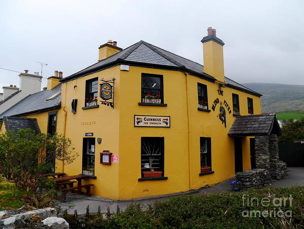 Inn Art Print featuring the photograph The Blind Piper Pub by Christiane Schulze Art And Photography