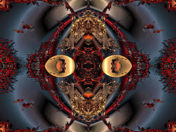 Digital Print featuring the digital art The Place Of Reconciliation by Claude McCoy