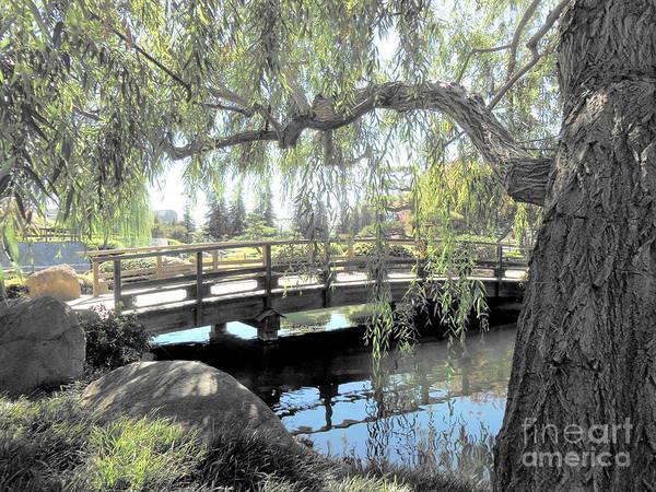 Bridge Art Print featuring the photograph The Zen Bridge by Eclectic Captures
