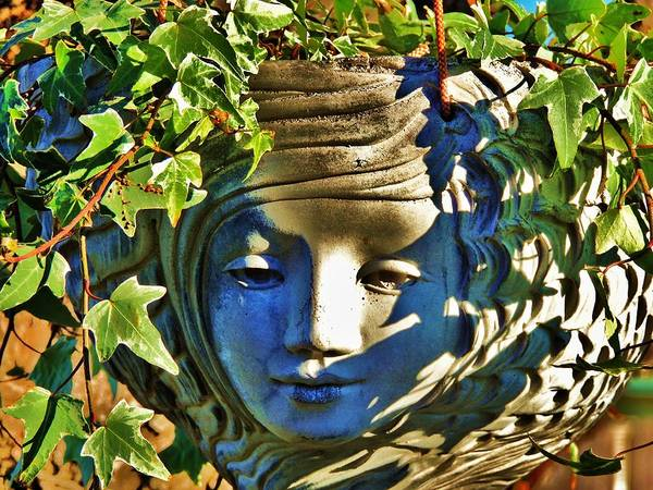 Garden Art Print featuring the photograph Told In A Garden by Helen Carson