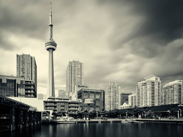 Toronto Art Print featuring the photograph Toronto Harbourfront by Alexander Voss