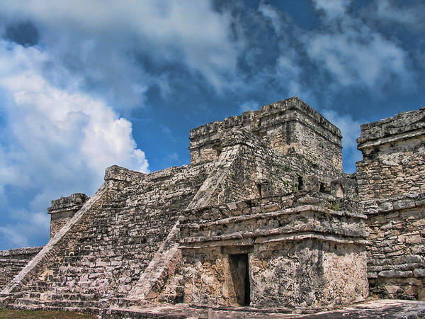 Tulum Art Print featuring the photograph Tulum by David Gleeson