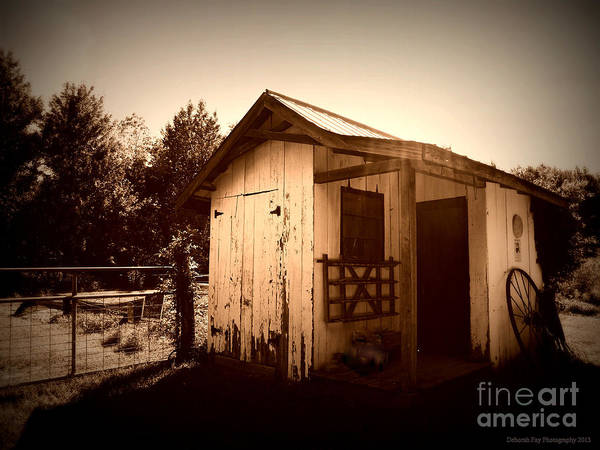Daguerrotype Art Photography Art Print featuring the photograph Way Back In The Day by Deborah Fay