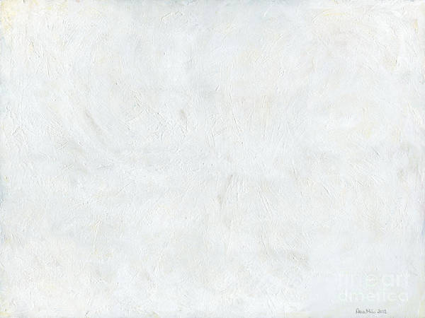 White Art Print featuring the painting White Color Of Energy by Ania Milo