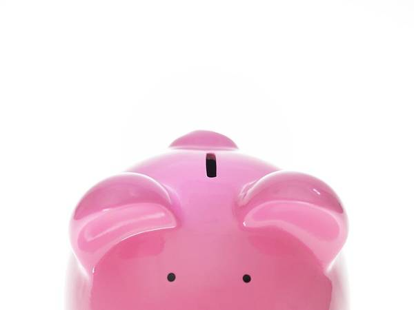Piggy Bank Art Print featuring the photograph Piggy Bank by Tek Image