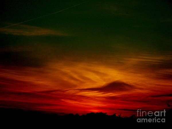Sunset Art Print featuring the photograph September 30 2007 by Mark Gilman