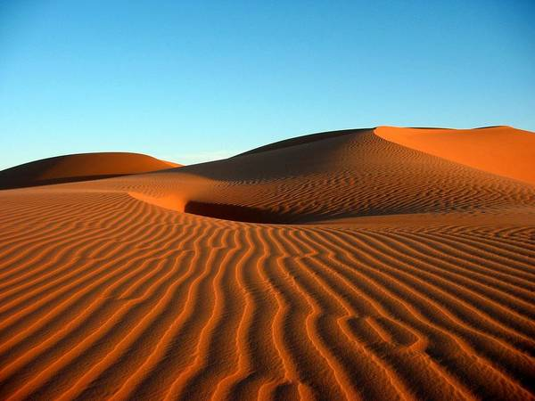 Horizontal Art Print featuring the photograph Ubari Sand Sea, Libya by Joe & Clair Carnegie / Libyan Soup