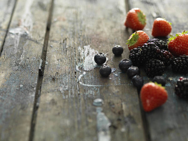 Horizontal Art Print featuring the photograph Fruit by Henrik Sorensen