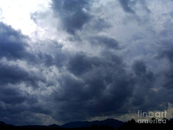 Art Print featuring the photograph A Storm Rolls In From The West 5 by Peggy Miller