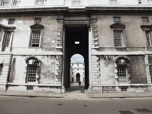 Royal Naval College Art Print featuring the photograph A View Of The Royal Naval College by Anna Villarreal Garbis