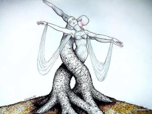 Adagio Of Life Art Print featuring the digital art Adagio Of Life by Paulo Zerbato