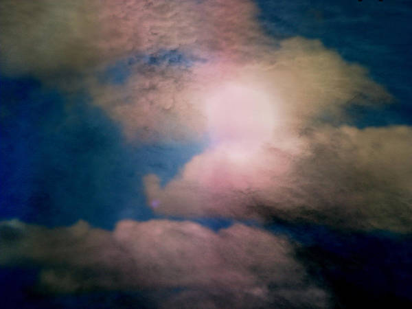 Expressive Art Print featuring the photograph An Impossible Sky by Lenore Senior