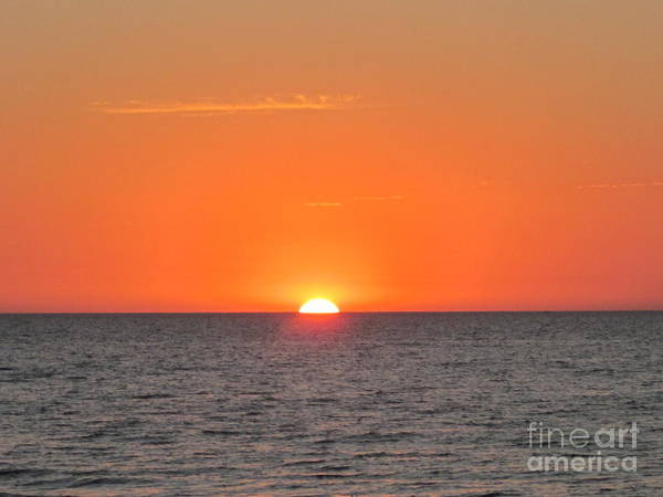 Art Print featuring the photograph As The Sun Goes Down by Miss McLean