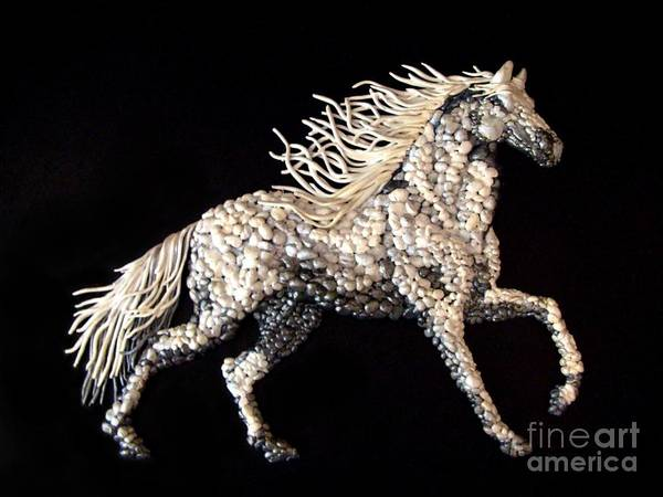 Horse Art Print featuring the photograph Baroque'n Style by Tonia Antilla
