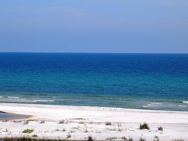 Blue Art Print featuring the photograph Blue Waters by Judge Howell