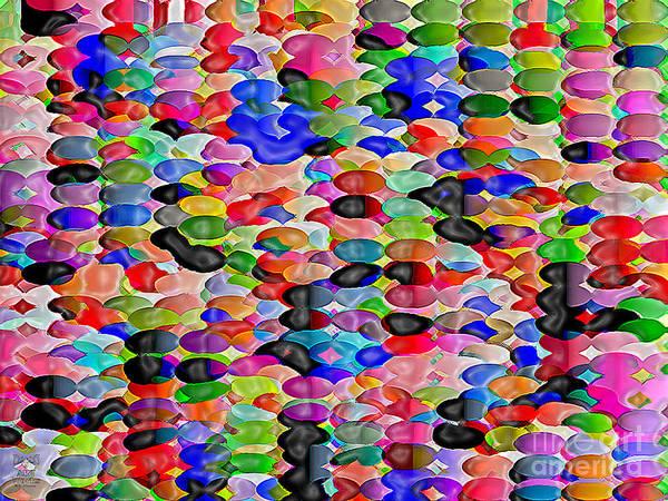 Bluebird Art Print featuring the digital art Bluebird Lost by Dee Flouton