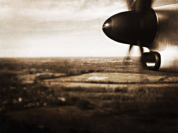 Plane Art Print featuring the photograph Coming And Going by Heather M Nelson