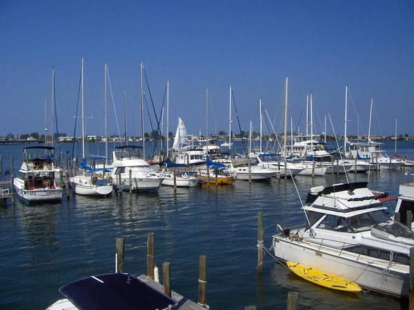 Boat Prints Art Print featuring the photograph Cortez Marina by T C Creations