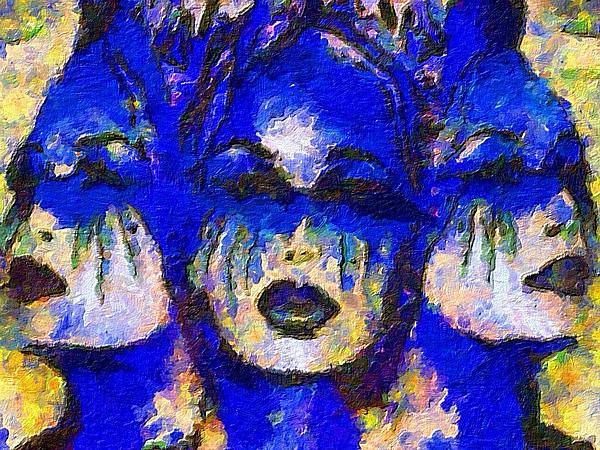 Impressionist Fashion Painting Art Print featuring the painting Fashion 211 by Jacques Silberstein
