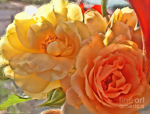 Nature Art Print featuring the photograph Golden Light by Debbie Portwood