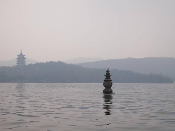 Lake Art Print featuring the photograph Hangzhou West Lake by Corey Landers