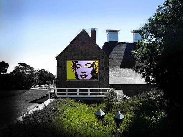 Marilyn Art Print featuring the photograph Heatwave by Charles Stuart